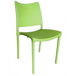 ".PagoPago Stackable Side Chair ""Green"""